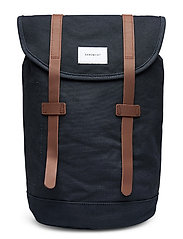STIG - NAVY WITH COGNAC BROWN LEATHER