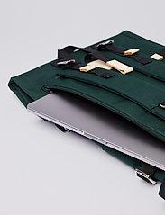 SANDQVIST - BERNT - nieuwe mode - dark green with natural leather - 8