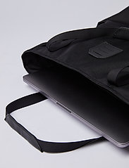 SANDQVIST - ROGER - nieuwe mode - black with black leather - 7