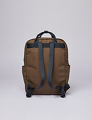 SANDQVIST - KNUT - sacs a dos - olive with navy webbing - 6