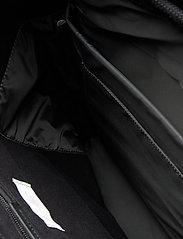 SANDQVIST - STIG LARGE - backpacks - black with black leather - 8