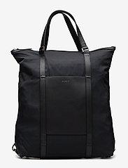 SANDQVIST - MARTA - nieuwe mode - black with black leather - 1