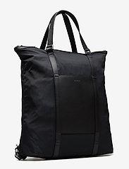SANDQVIST - MARTA - nieuwe mode - black with black leather - 3