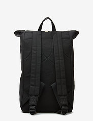 SANDQVIST - DANTE - backpacks - black with natural leather - 1