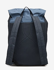 SANDQVIST - ROALD - backpacks - multi blue / dusty blue with natural leather - 1