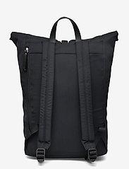 SANDQVIST - SIV - nieuwe mode - black with black leather - 2