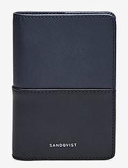 SANDQVIST - MALTE - wallets & cases - navy / black - 0