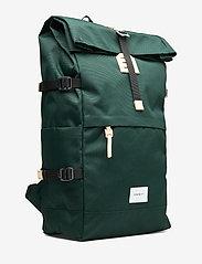 SANDQVIST - BERNT - nieuwe mode - dark green with natural leather - 3