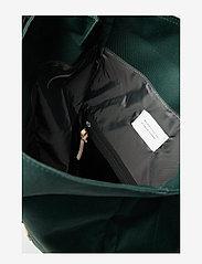SANDQVIST - BERNT - nieuwe mode - dark green with natural leather - 7