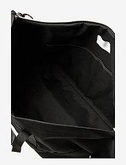 SANDQVIST - MILTON - treenikassit - black with black leather - 6