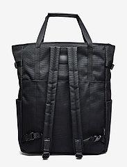 SANDQVIST - ROGER - nieuwe mode - black with black leather - 2