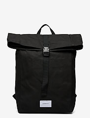 SANDQVIST - KAJ - bags - black with black webbing - 1