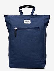 SANDQVIST - TONY - sacs a dos - blue with blue leather - 0