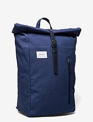 SANDQVIST - DANTE - sacs a dos - blue with blue leather - 2