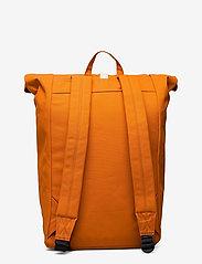 SANDQVIST - DANTE - tassen - burnt orange with natutal leather - 1