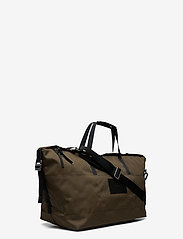 SANDQVIST - MILTON - matkalaukut - olive with black leather - 3