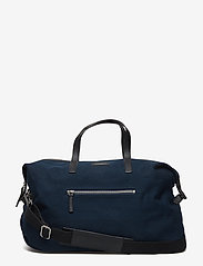 SANDQVIST - HOLLY - weekend and gym bags - blue with black leather - 0