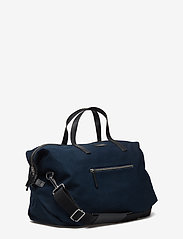 SANDQVIST - HOLLY - weekend and gym bags - blue with black leather - 3