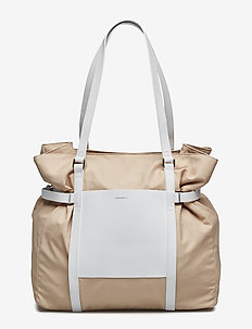 THEA - POWDER WITH WHITE LEATHER