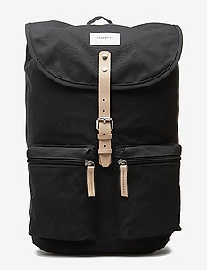 ROALD - BLACK WITH NATURAL LEATHER