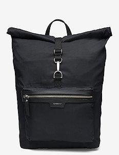 SIV - rucksäcke - black with black leather