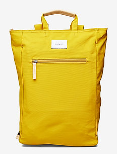 TONY - YELLOW WITH NATURAL LEATHER