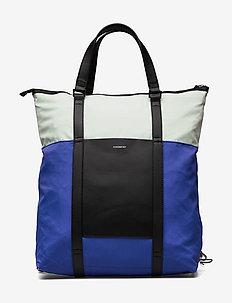 MARTA - fashion shoppers - multi color blue/green/black leather