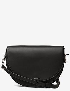 SELMA LEATHER - torby na ramię - black