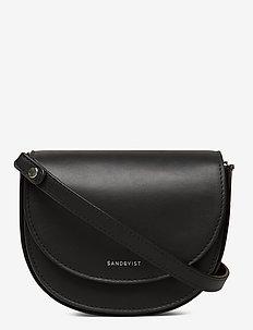 VENDELA LEATHER - torby na ramię - black