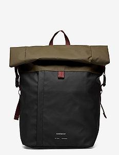 KONRAD - sacs à dos - multi black/olive