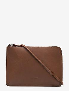LUNA - schoudertassen - cognac brown