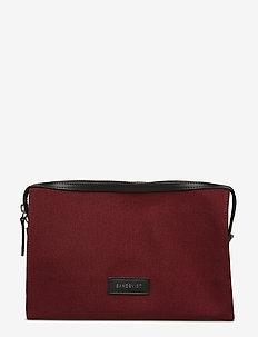 SANA - meikkilaukku - burgundy