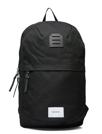 Glenn Bags Backpacks Casual Backpacks Schwarz SANDQVIST