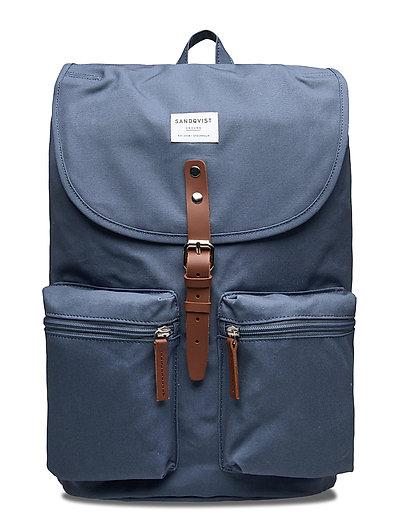 Roald Rucksack Tasche Blau SANDQVIST