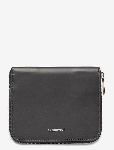 AMANDA - purses - navy with black interior