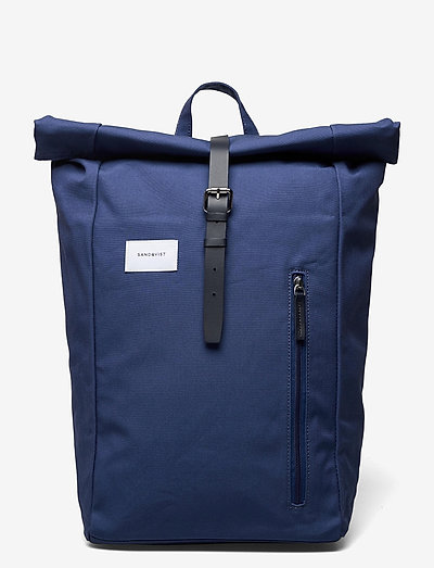 DANTE - bags - blue with blue leather