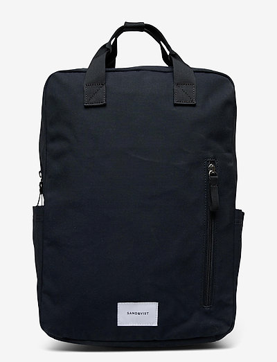 KNUT - torby - navy blue with navy webbing
