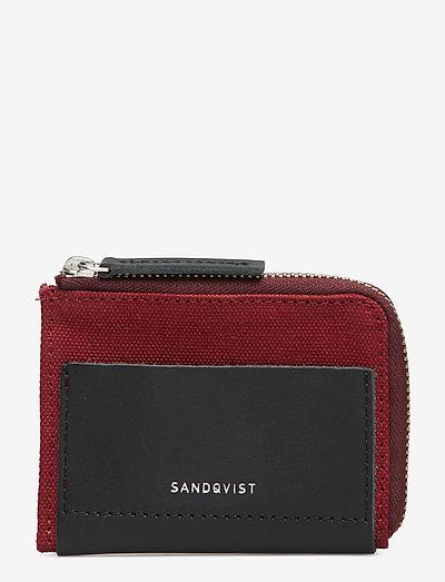 ELOF - wallets & cases - burgundy