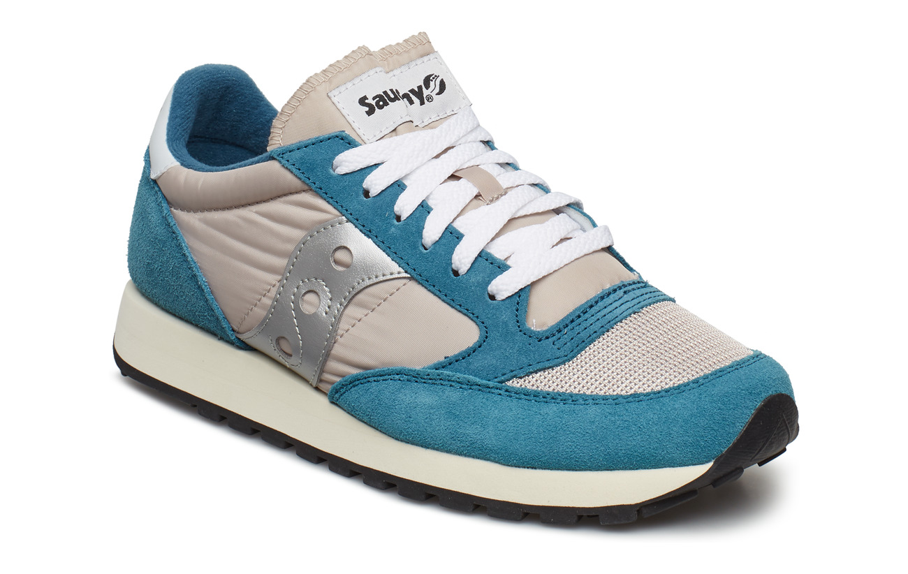 Saucony Originals JAZZ ORIGINAL VINTAGE - BLU/TAN/SIL