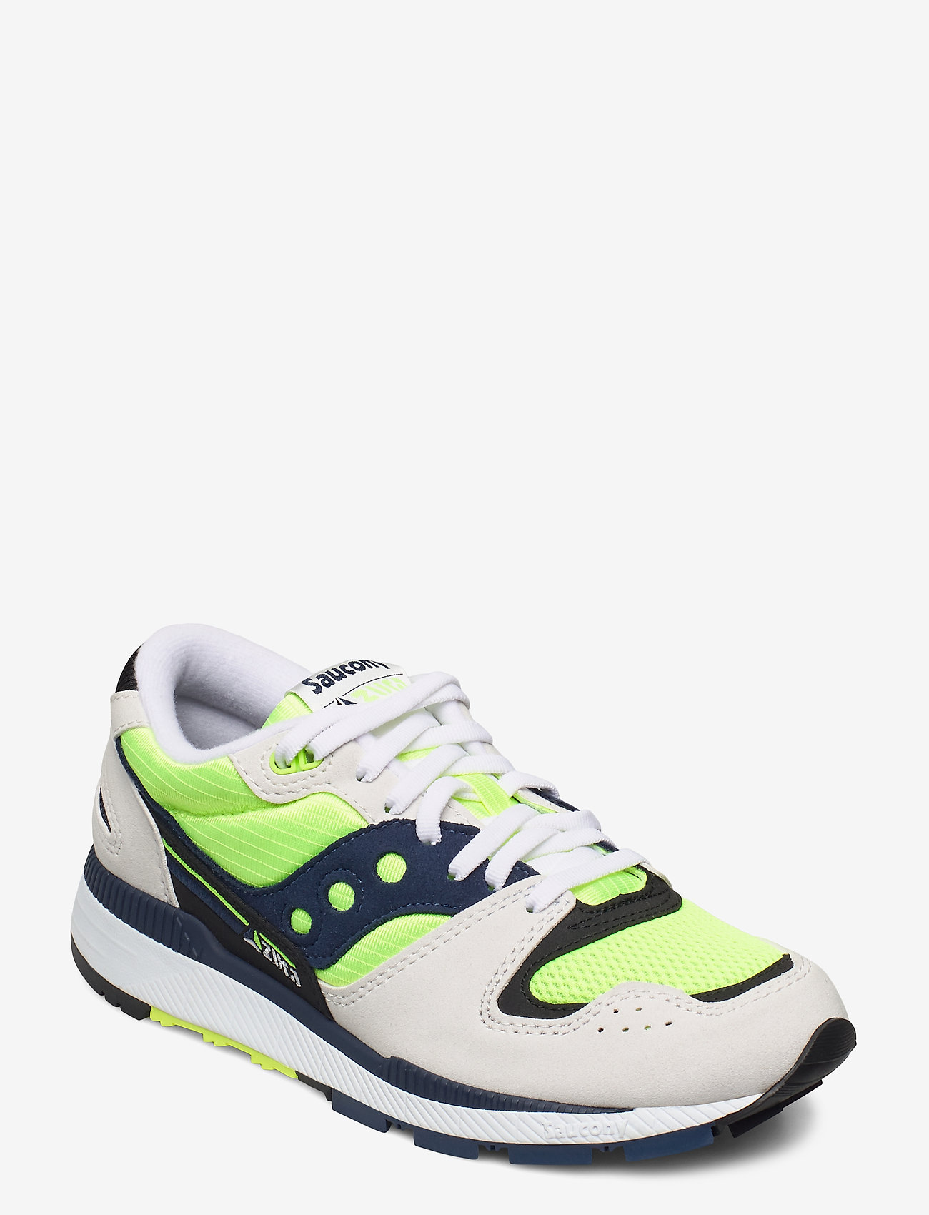 Saucony Originals - AZURA - lav ankel - wht/citron/denim - 0