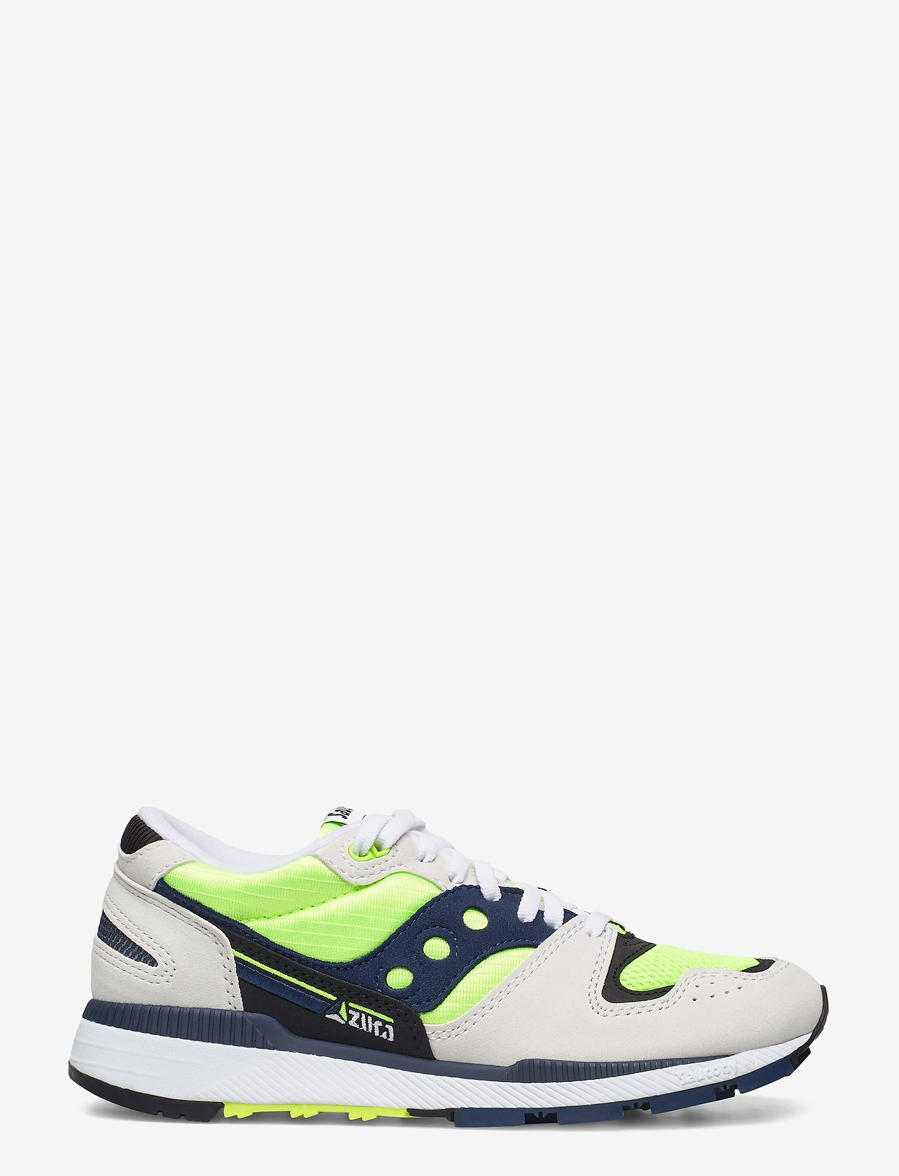 Saucony Originals - AZURA - lav ankel - wht/citron/denim - 1