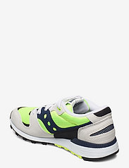 Saucony Originals - AZURA - lav ankel - wht/citron/denim - 2