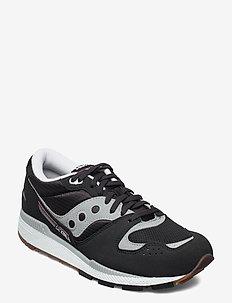 AZURA - låga sneakers - blk/gry