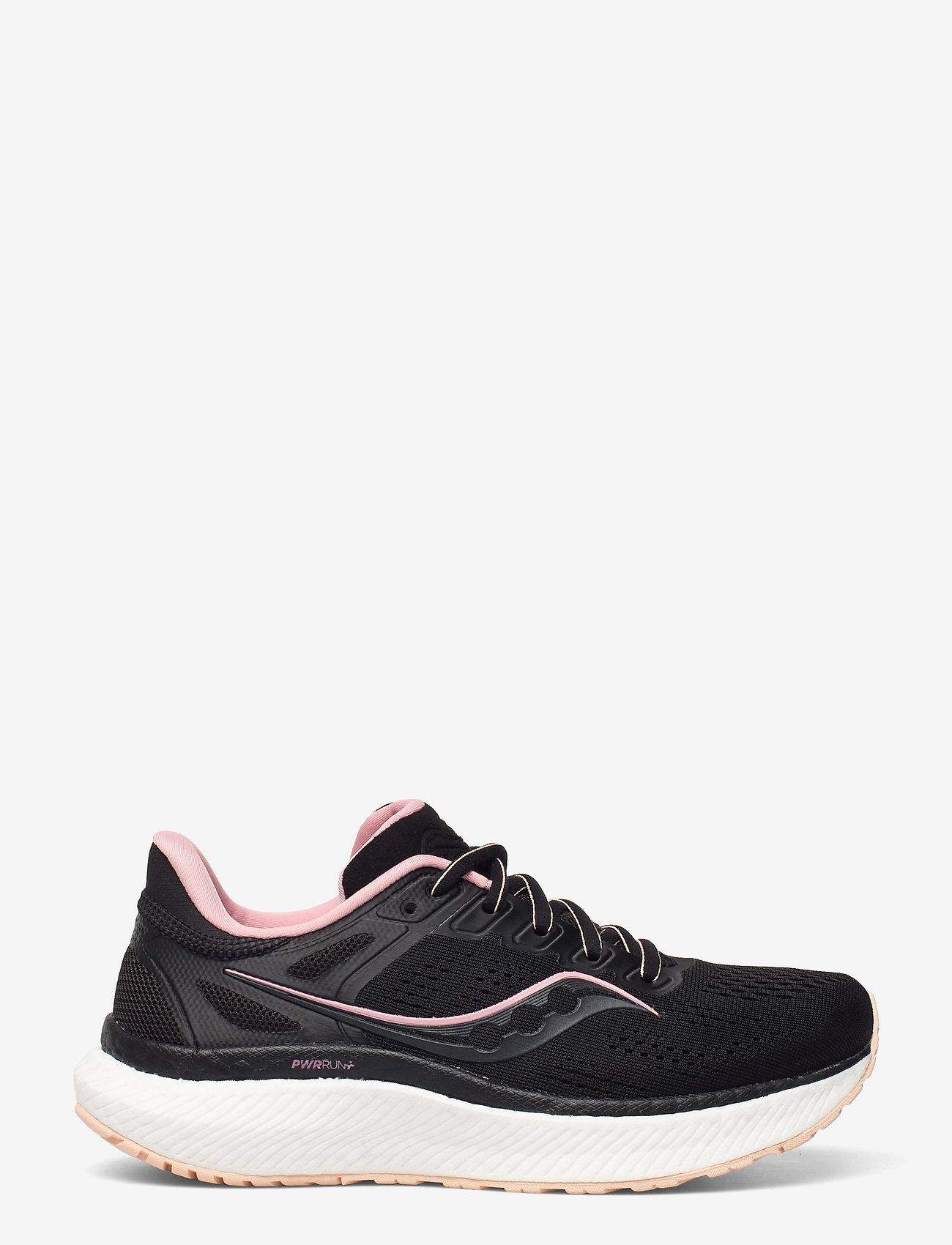Saucony - HURRICANE 23 - running shoes - black/rosewater - 1