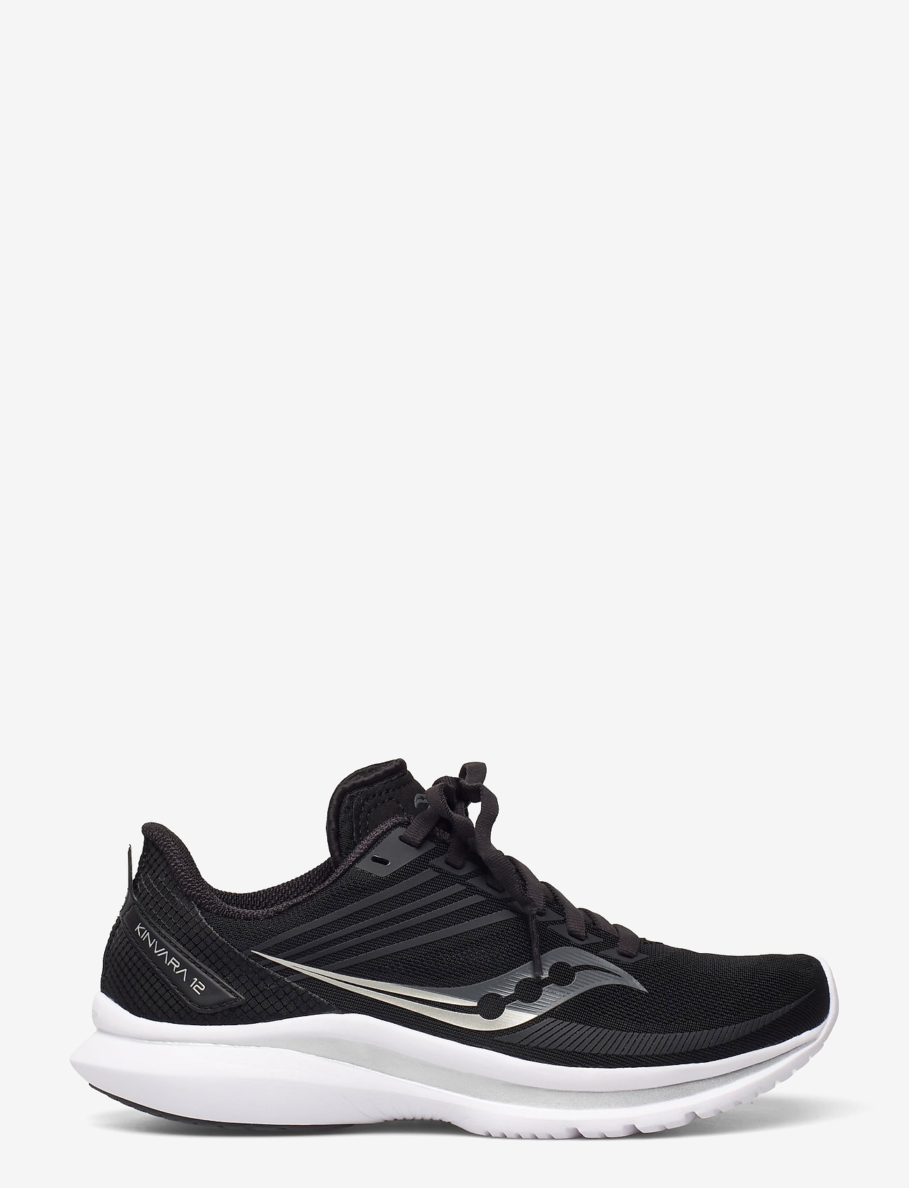 Saucony - KINVARA 12 - running shoes - black/silver - 1