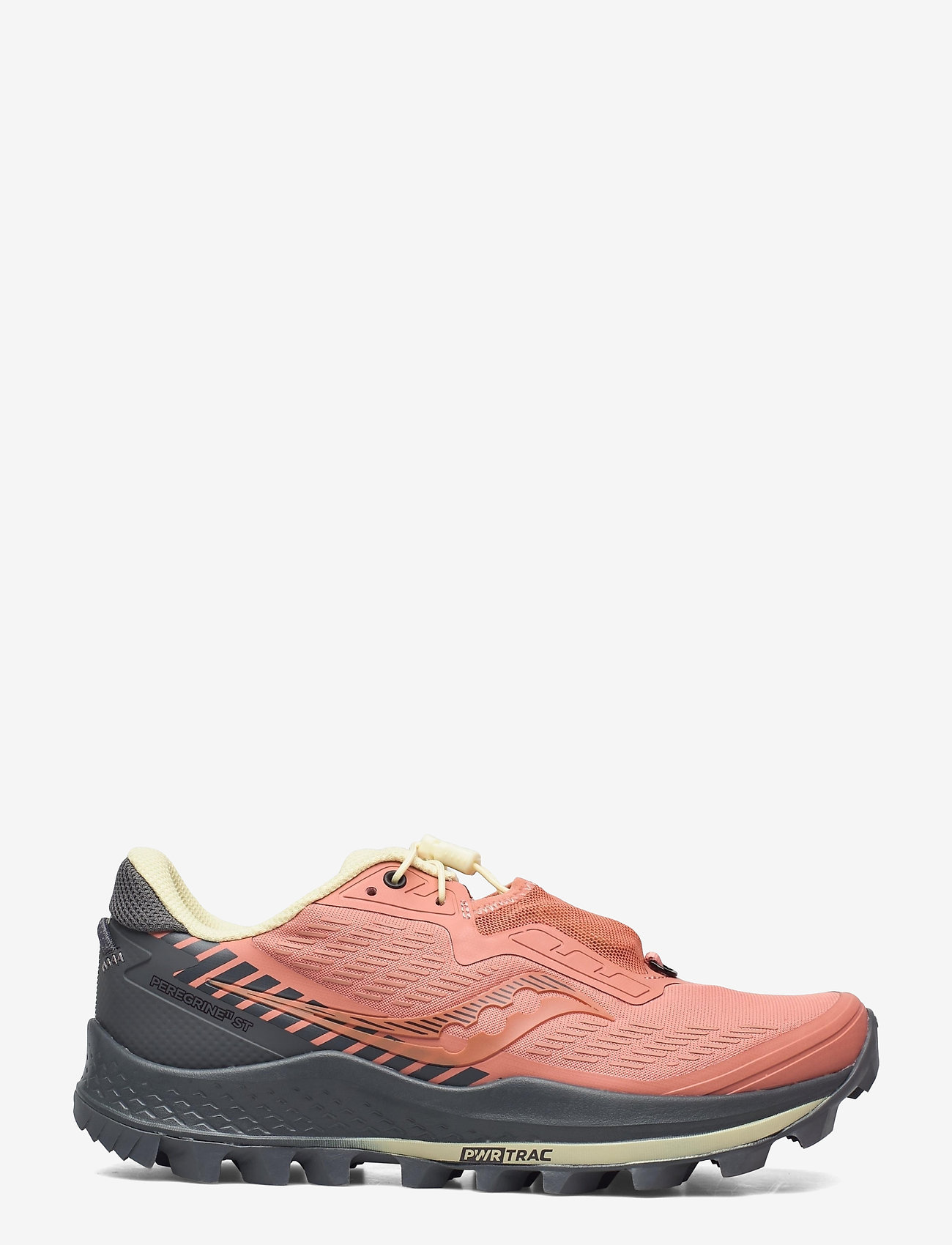 Saucony - PEREGRINE 11 ST - running shoes - rust/charcoal - 1