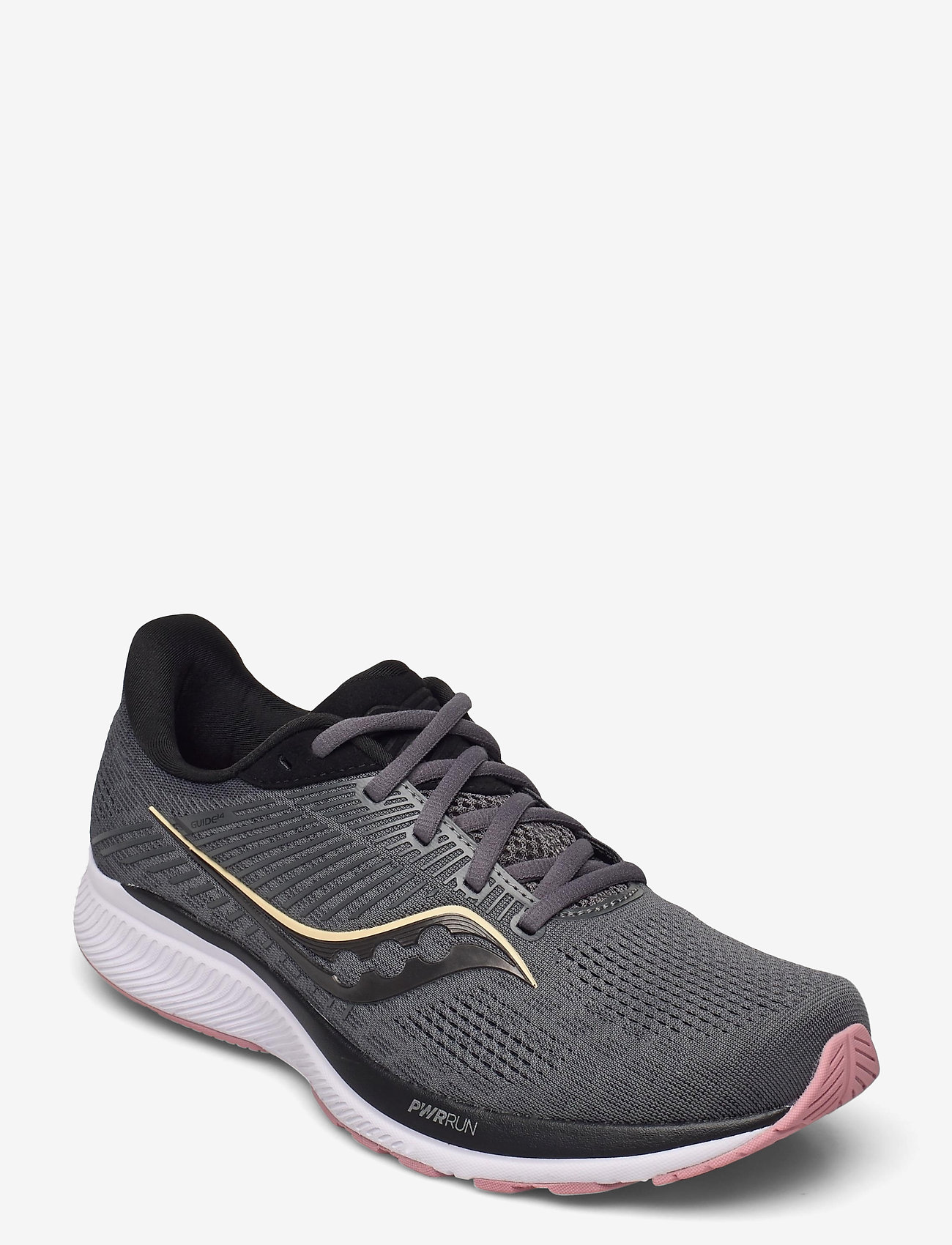 Saucony - GUIDE 14 - running shoes - charcoal/rose - 0