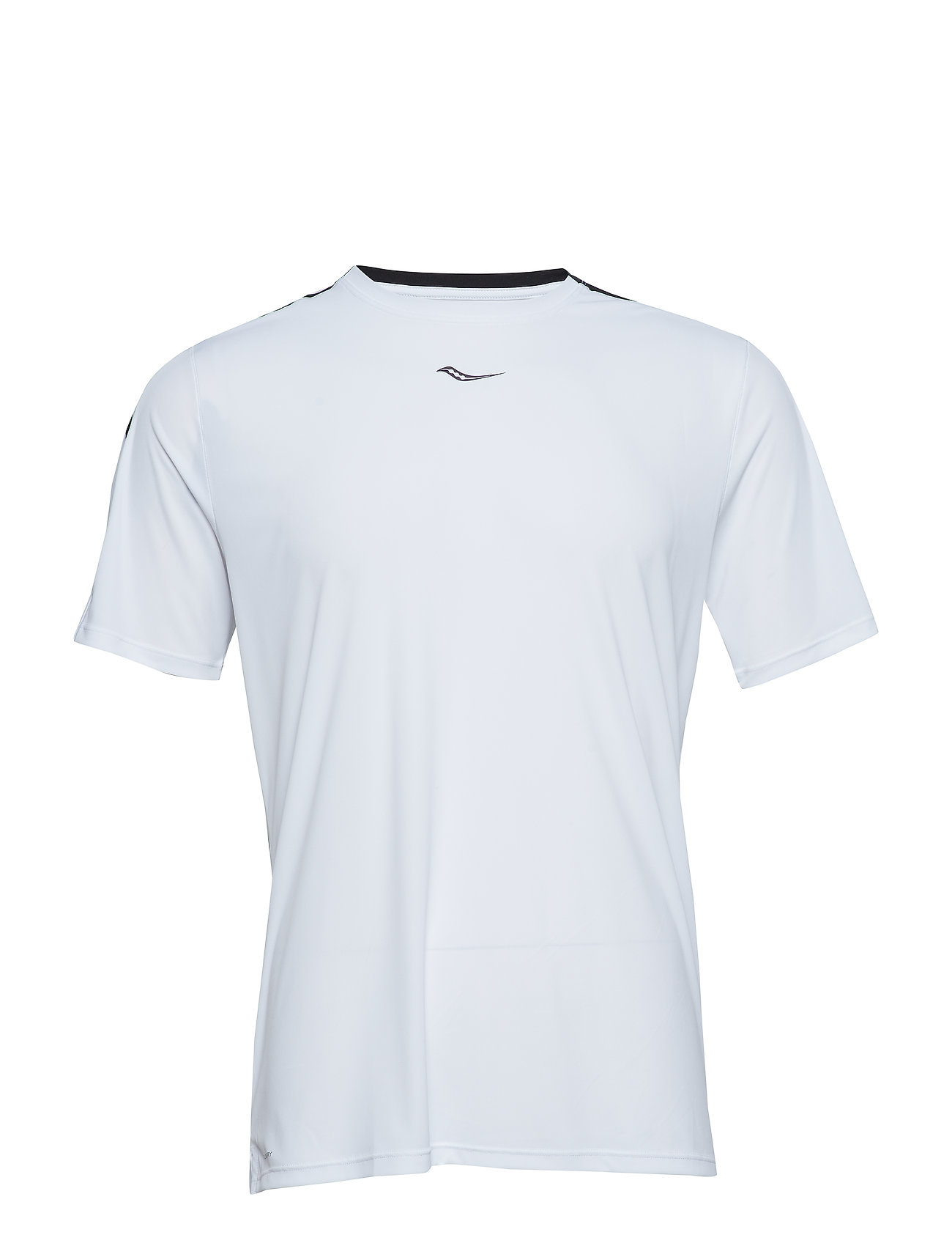 Saucony UV LITE SHORT SLEEVE - WHITE