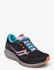Saucony - CANYON TR - running shoes - future black - 1