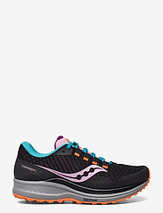 Saucony - CANYON TR - running shoes - future black - 0
